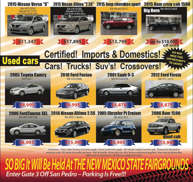 Used Car Sale Albuquerque Melloy Nissan Albuquerque