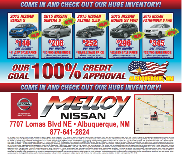September Car Sale Albuquerque 2