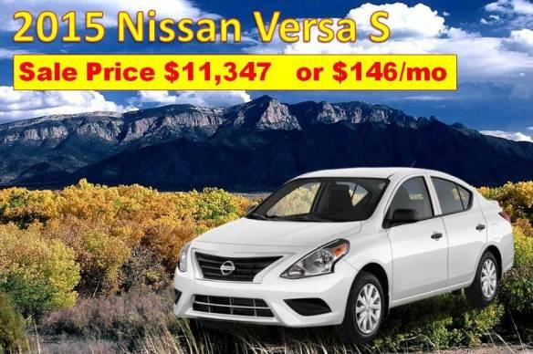 Nissan Versa Albuquerque